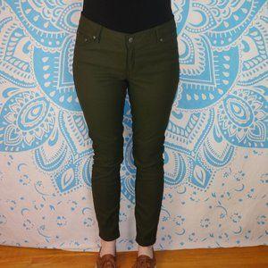 Prana Brenna Moto Pants Olive Green Size 10